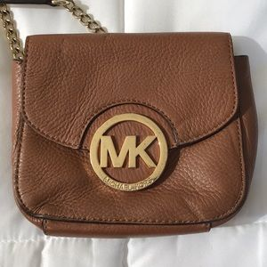 Michael Kors Saddle Cross Body Bag